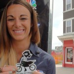 Interview with Jen Kenyon  at 2014 Snowshoe GNCC