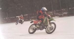 """Lissa at """"Bikes on Ice"""", January '04"""