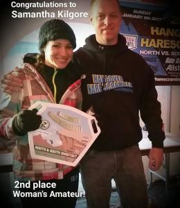 Samantha Kilgore 2nd place